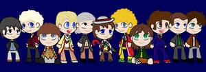 Eleven little Doctors by vulcangirl14