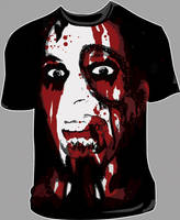 Zombie Shirt by MacabreHeretic
