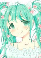 Hatsune Miku 10th Anniversary by Anniichu