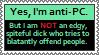 [STAMP] Anti-PC and Sane by HudicMark219