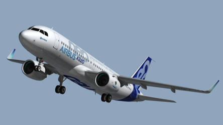 Airbus A320Neo by Emigepa