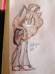 Valkyrie Cat by Silverfan4EVER123
