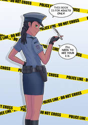 Officer Sam... by StereoscopeComics