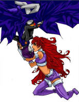Ask the Lonely: Raven+Starfire by teentitans