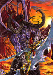 Illidan Stormrage by Abbadon82