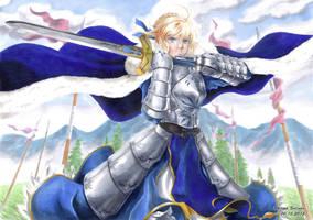 Artoria Pendragon - King of Knights by Abbadon82