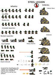 Steel Legion 40k sprites by steellegion64