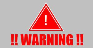 WARNING by PhantomFraggmentor