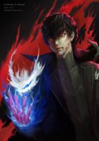 Persona 5 fanart by arifwijaya