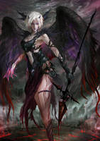 Gissael, Born of Blood by arifwijaya