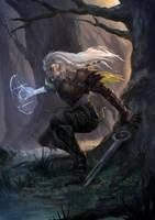 Azhai, Spellblade Elf by arifwijaya