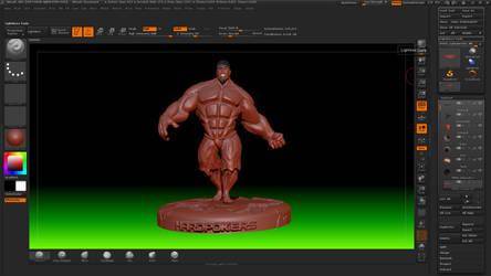 Hulk Stylek 7 @ Zbrush by HardPokers