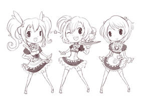 SketcFanART : Love Live School Idol Project by LataeDelan