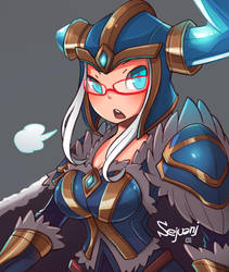 Sejuani classic by LataeDelan