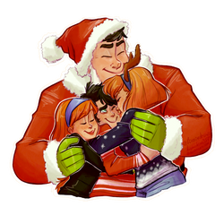 santa's name is dad by LinzieFey