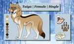 Taiga Reference by TheWolfFight