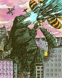 Godzilla! by sedani