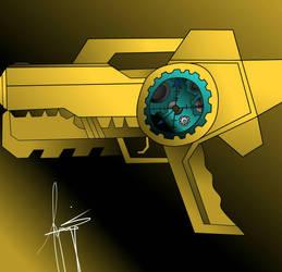 Time gun by Darkfrost1418