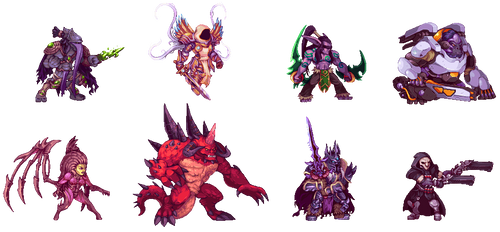 Heroes of Storm by Orkimides