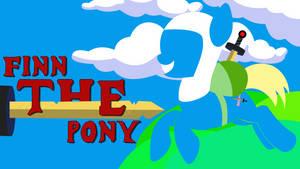 Finn The Pony Desktop Background by Dr-Chrono
