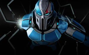 MK Cyber Sub-zero by LLirik-13