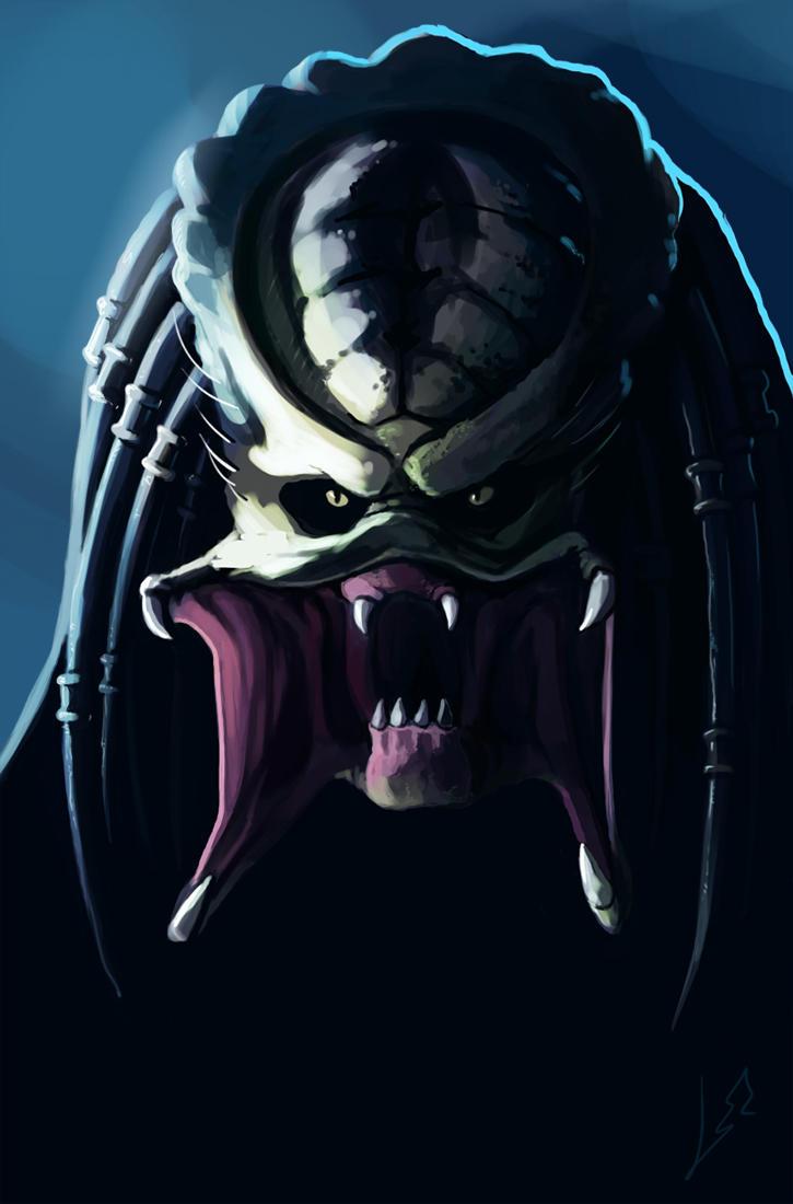 Predator smile) by LLirik-13