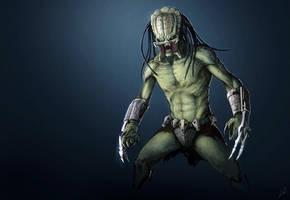 Predator fanart by LLirik-13
