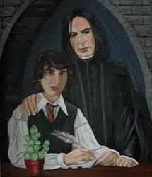 Nevilles dearest Teacher by Vulkanette