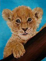 Lion Baby by Vulkanette
