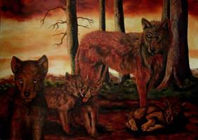 Wild Family by Vulkanette