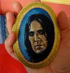 Severus Snape Miniature by Vulkanette