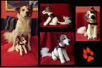 Crocheted Lumos  (my dog) by Vulkanette