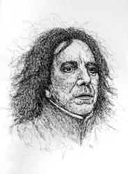 Severus Snape by Vulkanette