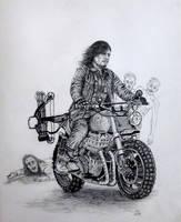 The Biking Dead by Vulkanette