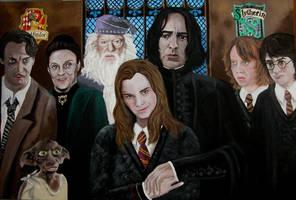 Scandal at Hogwarts by Vulkanette