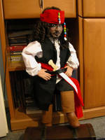 Jack Sparrow Doll by Vulkanette