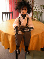 Edward Scissorhands Doll by Vulkanette