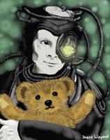 Borg with Teddybear by Vulkanette