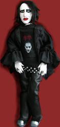 Marilyn Manson Doll by Vulkanette
