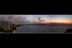 Guam - Tumon Bay Sunset by Keith-Killer
