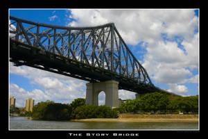 Storey Bridge in Brisbane by Keith-Killer
