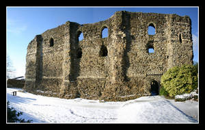 UK 37 - Canterbury Castle 02 by Keith-Killer