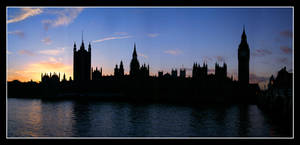 UK 39 - Westminster at Sunset by Keith-Killer