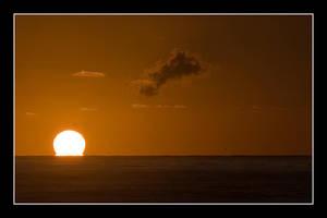 Sunrise On The Beach by Keith-Killer
