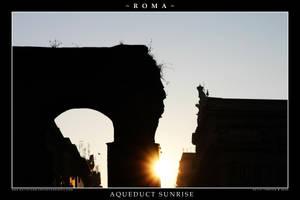 Aqueduct Sunrise by Keith-Killer