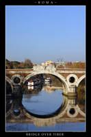 Bridge over Tiber River by Keith-Killer