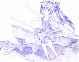 Hatsune Miku : Deep Sea Girl by noyuuu