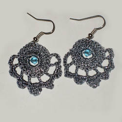 Crochet Earrings by Hope555