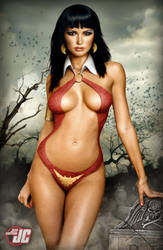 Vampirella by Jeffach
