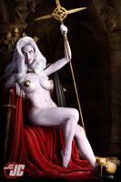 Lady Death Throne by Jeffach